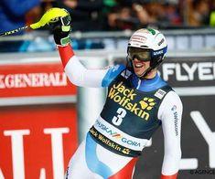 SCI ALPINO: ZENHAEUSERN VINCE LO SLALOM DI KRANJSKA GORA HIRSCHER L'OTTAVA COPPA DEL MONDO Grande sorpresa a Kranjska Gora, dove Zenhausen con una delle migliori manche della sua carriera, rimonta e conquista il primo successo in slalom speciale. Lo svizzero ha rifilato, oltre un secondo ai due rivali Kristoffersen a cui non è riuscita la doppietta, con il gigante di ieri, Hirscher matematicamente vincitore dell'ottava sfera di cristallo, consecutiva. Alle loro spalle Feller Sandro, Snowboard, Rugby, Hockey, Sl 1, World Cup 2018, Freestyle, Motorcycle Jacket, Skiing