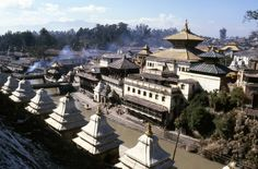Pashupatinath Temple, Kathmandu, It is one of the most significant Hindu temples of Shiva in the world, located on the banks of the Bagmati River.