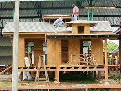Fully knockdown houses. Can be exported via ocean freight in containers with Autocad drawings for easy assembly. Autocad drawings with customers' preferred design, layout will be submitted for approval prior to manufacture. At Indochine Decor, we specialize in translating customers' concepts into beautiful residences - something we've been helping architects, interior designers, contractors & homeowners do for over 15 years!