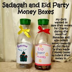 Karima's Crafts: Sadaqah Money Box Tutorial - 30 Days of Ramadan Crafts