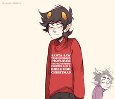 293 Best Ikimaru Images Told You So Homestuck Ugly Christmas Sweater