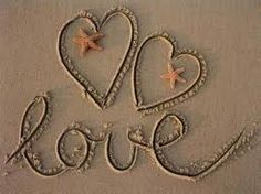 Love, starfishies and sand........ahh, the beachy life we're blessed to live!