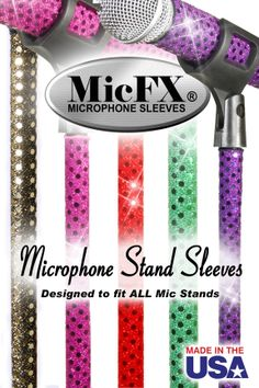 Microphone Stand Sleeves from www.Mymicfx.com