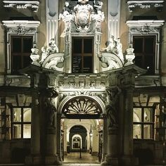 Walking through Vienna at night you'd almost think that you take a walk on an opera stage. Vienna, Austria, Opera, Stage, Walking, Photo And Video, Night, Instagram, Opera House