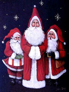 Trio of Christmas Spirit by Jamie Carter