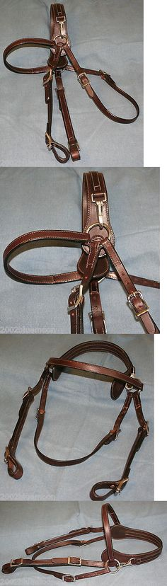 Bridles and Headstalls 3177: Clip Over Ears Headstall Mule Horse Bridle Jays Fine Dark Brown Leather All Ss -> BUY IT NOW ONLY: $58 on eBay!
