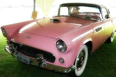 Pink Thunderbird. Thanks, Gene Vincent!