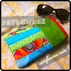 quilted sunglass case