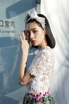 Kiko Mizuhara for NYLON Japan Magazine, February 2015  Photography by Bungo Tsuchiya