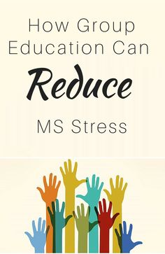 Classes that combine information with group support can reduce depression, anxiety, stress, and pain for people with MS.