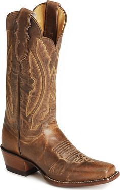 every girl needs a pair of cowboy boots in her closet. They're comfy and go with everything. And I love going to the country bar on Friday nights and dancing in mine.