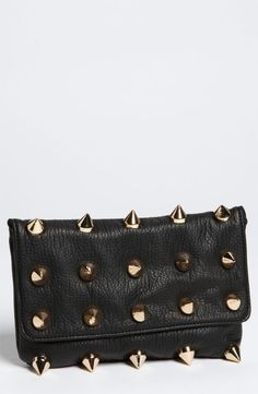 L'extravagance #spiked #purse #studded