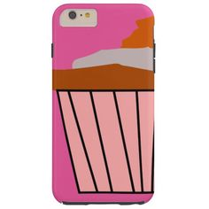 Get your Delicious Cupcake style on. Tough iPhone 6 Plus Case
