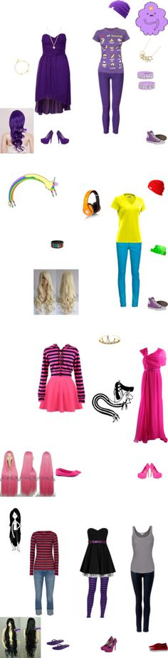 """""""Adventure Time Girls"""" by skrillex424 on Polyvore"""