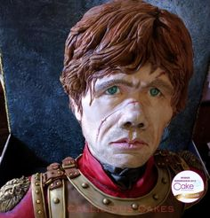 Tyrion Lannister - Cakes International 2015 by Callicious Cakes