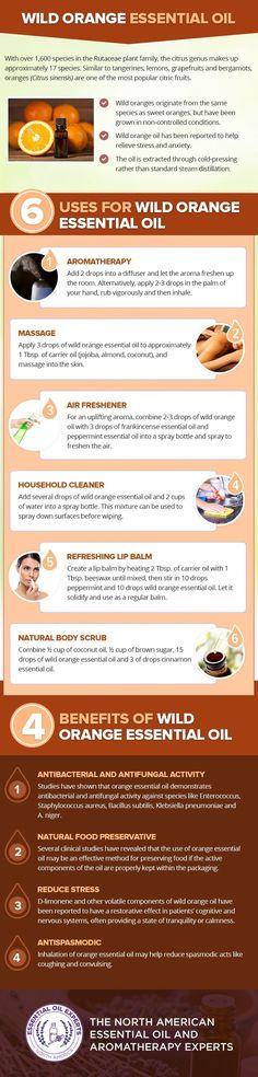 Wild orange essential oil benefits and uses