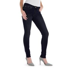 """Signature by Levi Strauss & Co."""" Totally Comfy Super Skinny Jeans"""