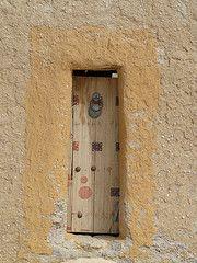 Narrow door.