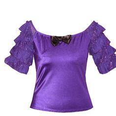 Haut baroque marie-antoinette violet