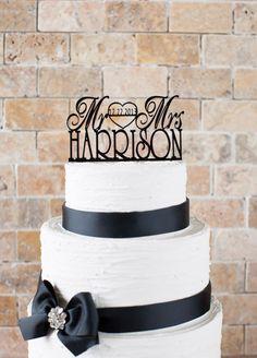 "Wedding Cake Topper 6""x3,5"" (item number 10057)"