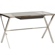 Another option if the large drawer of the Beverly desk isn't appealing. #office #style Trevor Desk