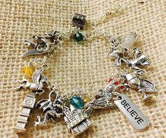 Harry Potter Charm Bracelet #book-lover #bookish #charm-bracelet