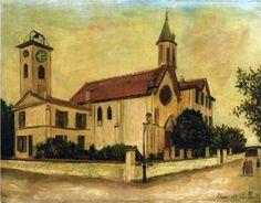 Beaulieu Church - Maurice Utrillo