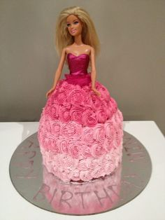 Dolly Varden cake for my cousins 4th birthday party