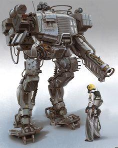 Armored Mech Warrior