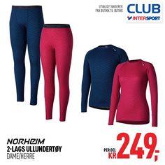 """Intersport Norge on Instagram  """"Ukens Club Intersport medlemstilbud er det  behagelige og varme ullundertøyet fra Norheim. Det er 2-lags ullundertøy  til både ... 04b8d888a6a2c"""