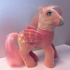 My Little Pony MLP G1 Vintage SS So Soft Ponies Pegasus Hippity Hop bunnies 1986
