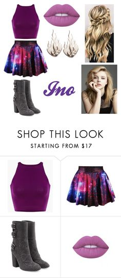 """""""Ino"""" by lilibessa on Polyvore featuring Laurence Dacade, Lime Crime and Ring of Fire"""