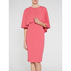 Buy Gina Bacconi Moss Crepe Cape Jacket And Dress Online at johnlewis.com