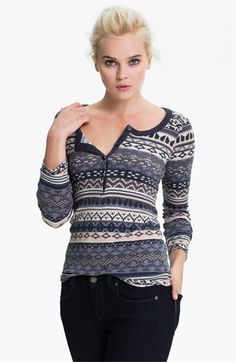 Splendid 'Breckenridge' Thermal Top available at #Nordstrom - $88