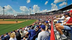 Space Coast Stadium, Viera FL. ***If an affordable beach vacation, offering the best of sun and fun, is what you're looking for, Cocoa Beach and the Space Coast of Florida is the place to come. Start planning to do so right now on CocoaBeach.Com!