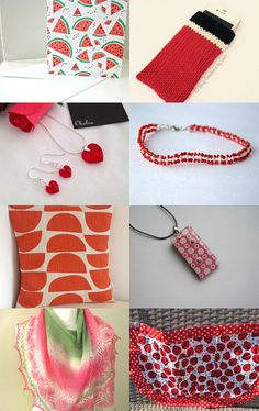 A Slice of Watermelon by Lindsay Buck on Etsy--Pinned with TreasuryPin.com