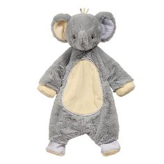 Little Elephant Sshlumpie - $19.95 - Who are you going to cuddle with? How about this ultra-soft cross between a blanket and a stuffed elephant! She's so cuddly, she's quick to melt the heart and ease the mind.