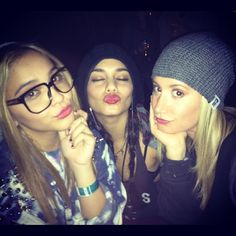 Omg! Stella, Vanessers!, and Ashley! All in  one sitting! #perfection!