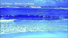 12 Hours - Ocean Waves crashing onto the shore - Ambient Sounds for meditation/sleep/relaxation