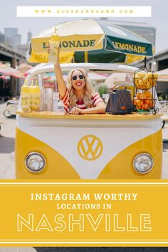 It you're planning on traveling to Nashville soon, you definitely need to check out these picture spots for inspiration! I update this list whenever I find a new place so be sure to keep checking back! #instagram #nashville #travellog #pictureideas #poses