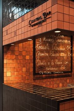 Central Bar - Francesc Rifé Studio - Valencia Restaurant Interior Design, Interior Design Studio, Kiosk Marketing, Central Bar, Cafe Food, Coffee Cafe, Restaurant Bar, Hospitality, Valencia