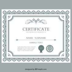 free funny award certificates templates | Editable Award of ...