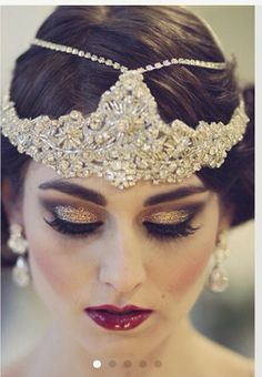 Great Gatsby makeup look