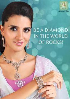 Be you… and shine bright like a diamond. #Jewelry #Diamond #MalaniJewelers