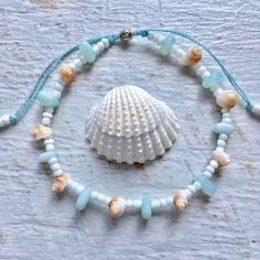 beachcomber by beachcombershop Simple Bracelets, Bohemian Bracelets, Bohemian Jewelry, Handmade Bracelets, Handmade Jewelry, Seashell Jewelry, Beaded Jewelry, Beaded Bracelets, Girls Jewelry