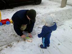 Játék apával :)