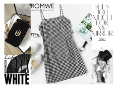 """Romwe-black and white"" by elza-345 ❤ liked on Polyvore featuring Rika"