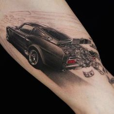 40 Awesome 3D Tattoo Designs | InkDoneRight One of the most eye-catching—and even jaw-dropping—form of tattoo is the three-dimensional (3D) tattoo that has recently gained notoriety on the scene of...