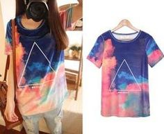 Sales-japan-harajuku-style-tie-dye-triangle-tee-shirt-galaxy-printed-shorts-short-sleeve-t-shirts.jpg (300×246)