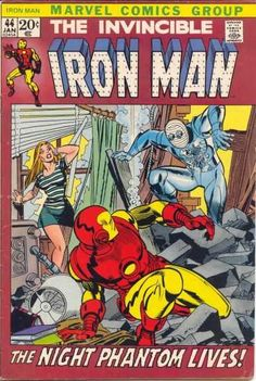 Iron Man #44 - Weep For A Lost Nightmare!